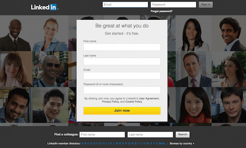 What is LinkedIn? The LinkedIn login screen is a gateway to an incredible career network.